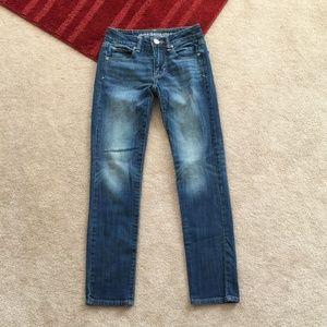 AE Stretch 00 Short Skinny Jeans W 24 x I 27 1/4